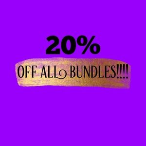 Other - 20% off all bundles!